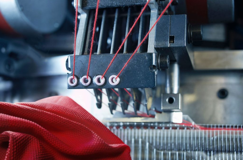 Over 30 years ago we started to produce technical knitted fabrics both on circular and flat knitting machines.