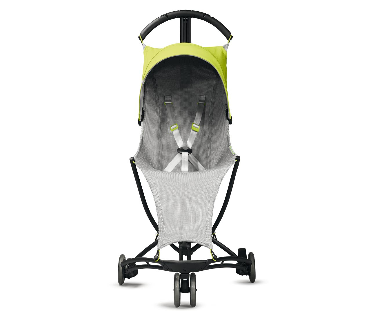Foldable baby stroller with 3D-knit